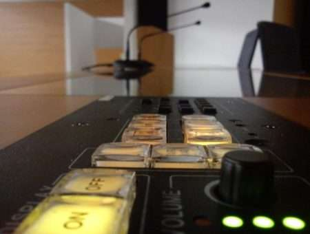 Botoneras de Control Audiovisual