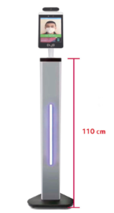 medidor de temperatura pie