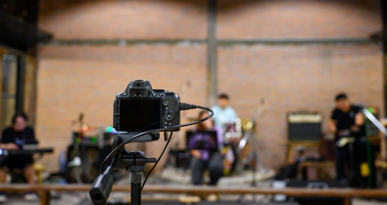 hacer conciertos online en directo